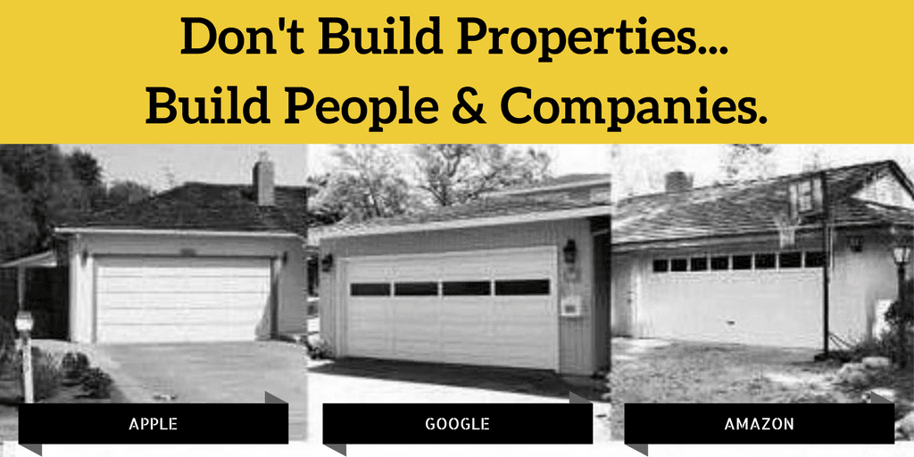 Don't Build Properties, Build People & The Power Law